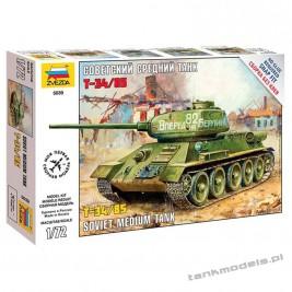 T-34/85 mod. 1944 - Zvezda 5039