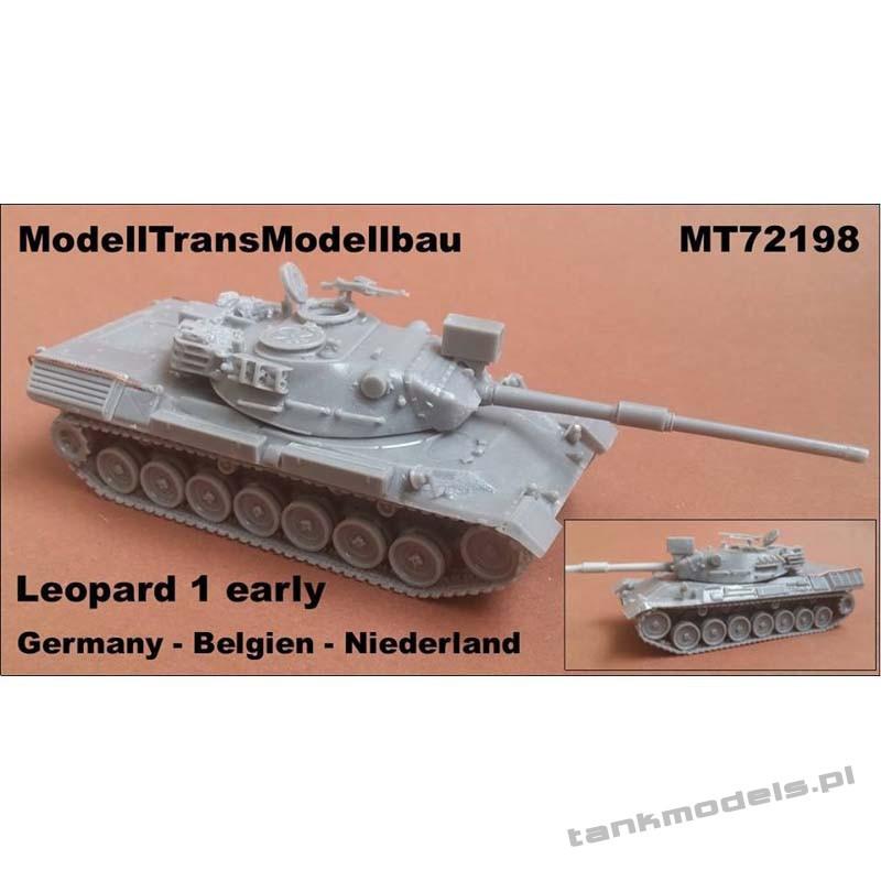 Leopard 1 early (DE-NL-BE) - Modell Trans 72198