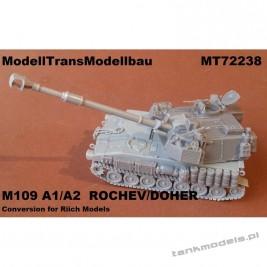 M109 Doher/Rochev (conv for Riich) - Modell Trans 72238