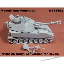 M109 US Army (conv. for Revell) - Modell Trans 72502