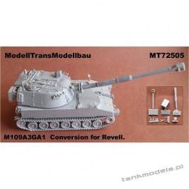 M109A3GA1 BW (conv. for Revell) - Modell Trans 72505