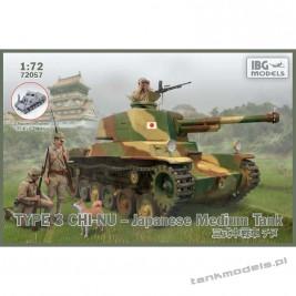 Type 3 Chi-Nu Japanese Medium Tank - IBG 72057