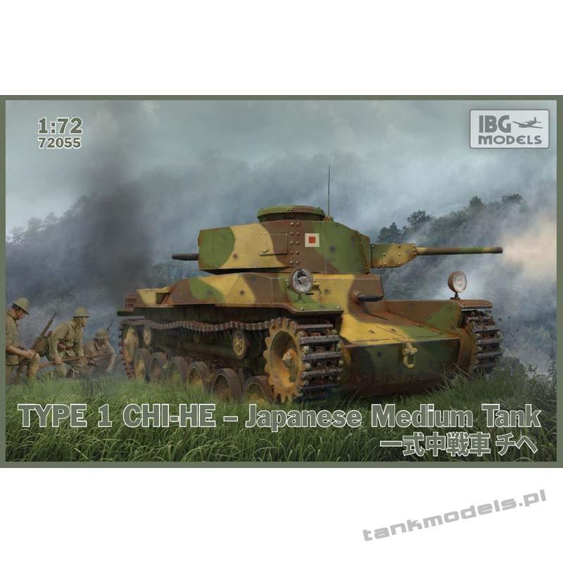 Type 1 Chi-He Japoński czołg średni - IBG 72055