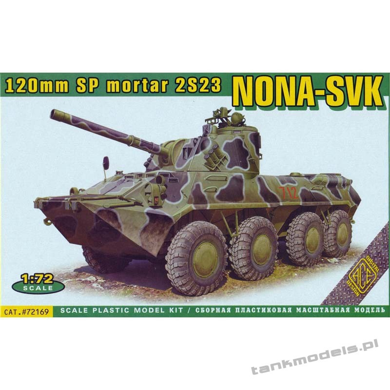 120mm SP mortar 2S23 Nona-SVK - ACE 72169