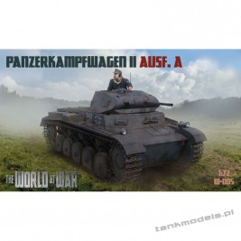Panzer II Ausf. A German Tank - World At War 005