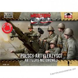 Polscy Artylerzyści Artylerii Motorowej - First To Fight PL1939-57