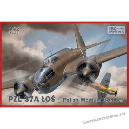 PZL. 37 A Łoś Polish Medium Bomber - IBG 72511