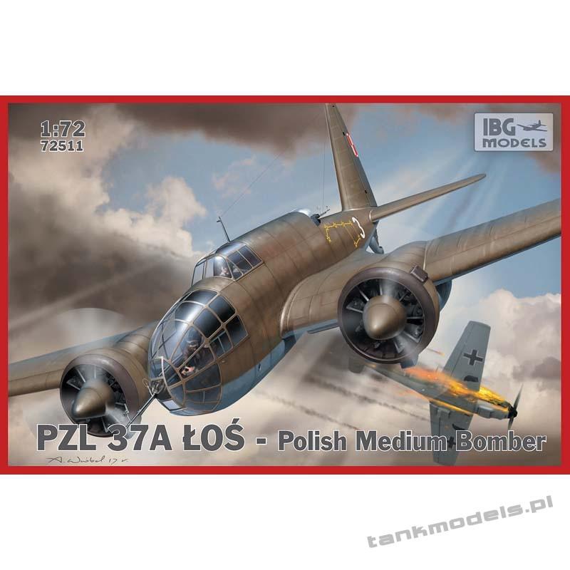 PZL. 37 A Łoś Polish Medium Bomber - IBG 72511