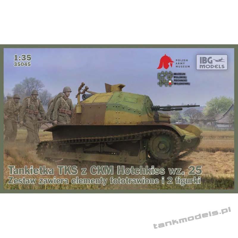 Tankietka TKS z ckm Hotchkiss wz. 25 - IBG 35045