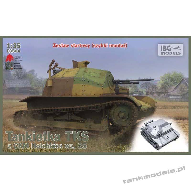 Tankietka TKS z ckm Hotchkiss wz. 25 - IBG E3504