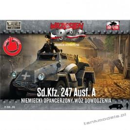 Sd.Kfz. 247 Ausf. A (wóz dowodzenia) - First To Fight PL1939-59