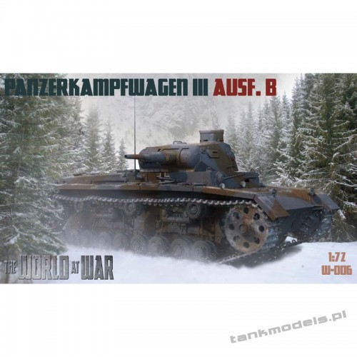 Panzer III Ausf. B German Medium Tank - World At War 006