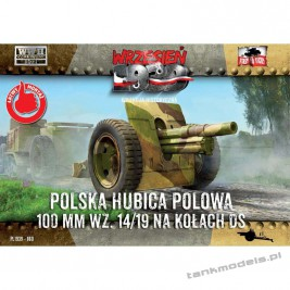 Polska Haubica Polowa Skoda 100mm 14/19 na kołach DS - First To Fight PL1939-60