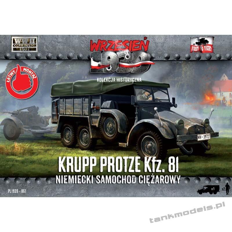 Krupp Protze Kfz. 81 - First To Fight PL1939-61