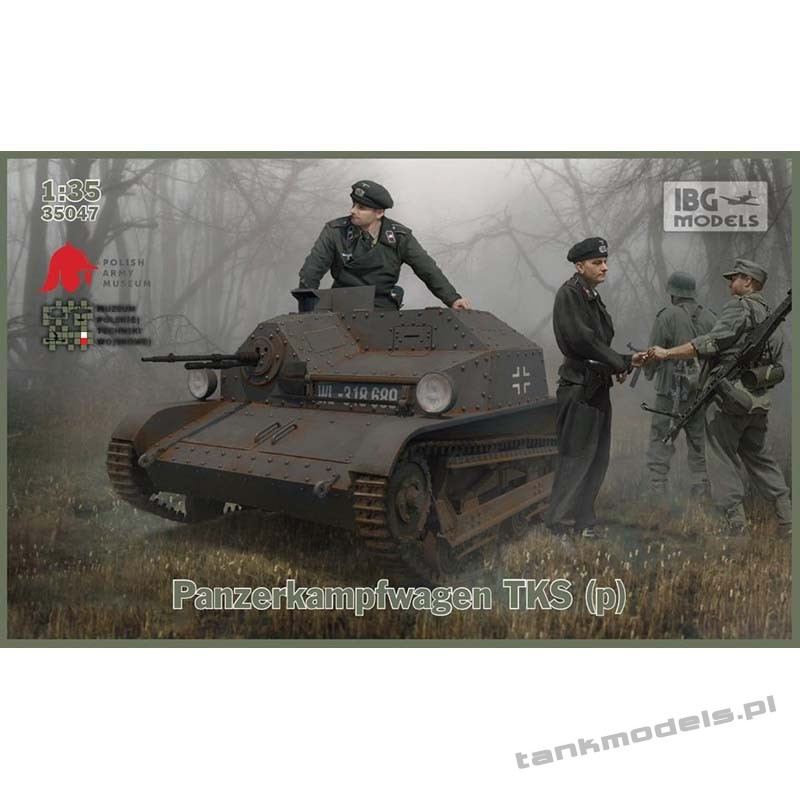 Panzer TKS(p) with Hotchkiss wz. 25 - IBG 35047