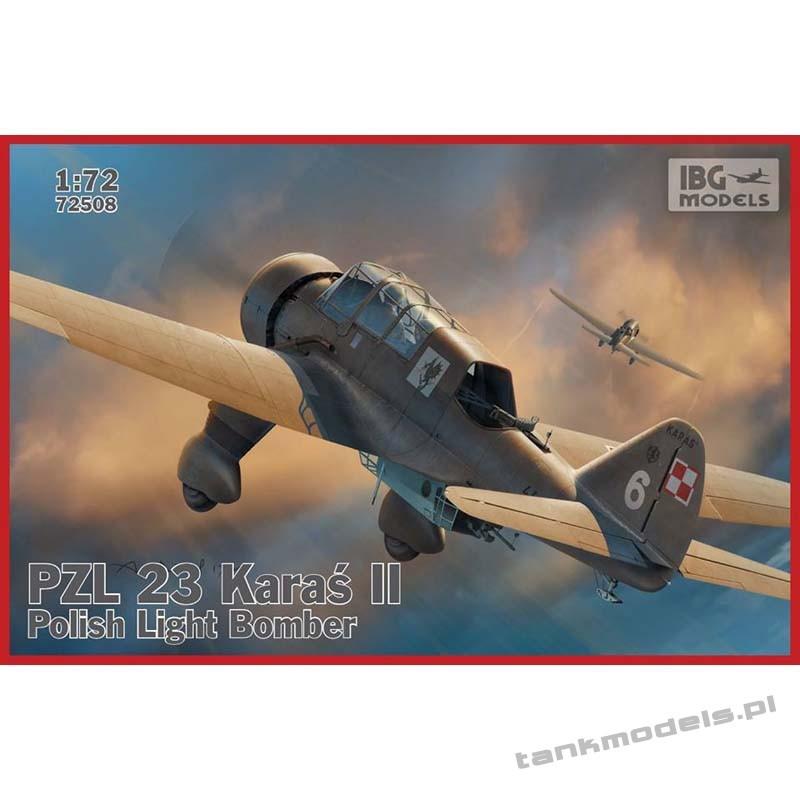 """PZL. 23 Karaś II (""""Crucian"""")- IBG 72508"""
