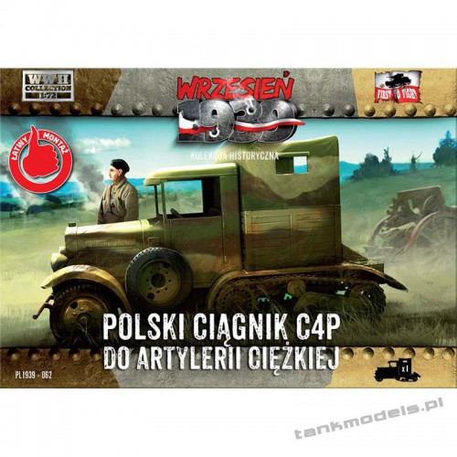 C4P Polish heavy artillery tractor - First To Fight PL1939-62