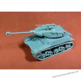 Bernardini X1 Brasilian light tank - Modell Trans 72511