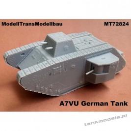 A7VU german tank - Modell Trans 72824