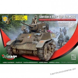 M3A3 Stuart 'Liberation of Paris' - Mirage Hobby 726068