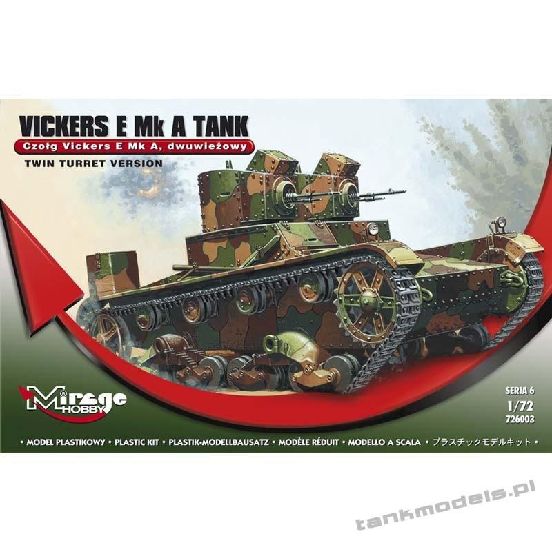 Vickers E Mk A - Mirage Hobby 726003