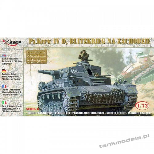 Panzer IV Ausf. D 'Blitzkrieg in the West' - Mirage Hobby 72854
