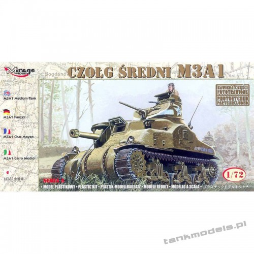 """M3A1 """"General Grant"""" - Mirage Hobby 72803"""
