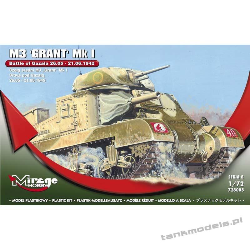 "M3 ""General Grant"" Mk.I 'Battle of Gazala' - Mirage Hobby 728008"