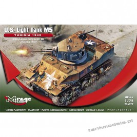 M5 Stuart 'Tunisia 1942' - Mirage Hobby 726077