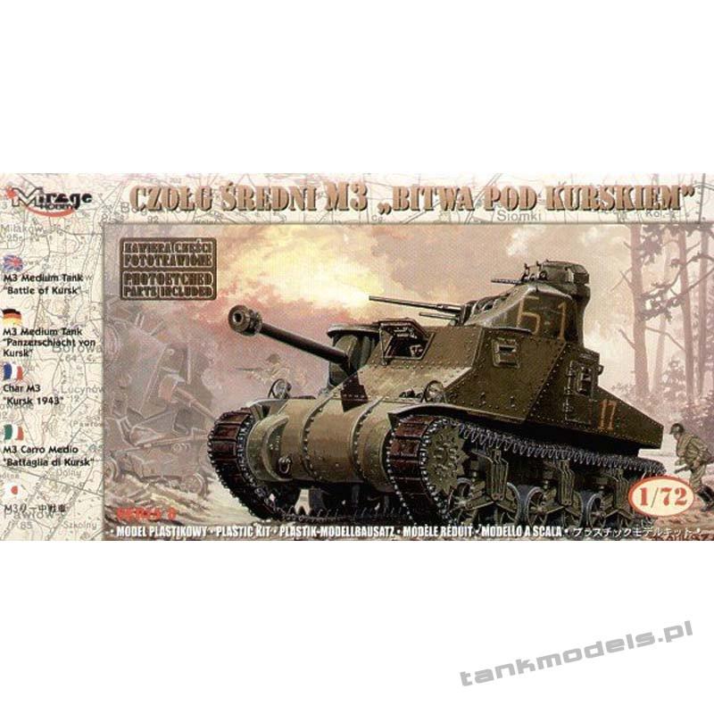 M3 'Bitwa pod Kurskiem 1943' - Mirage Hobby 72806