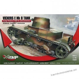 Vickers E Mk. B Polish light tank - Mirage Hobby 726004