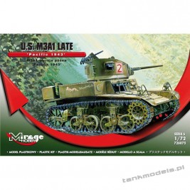 M3A1 Stuart 'Pacific 1943' - Mirage Hobby 726075