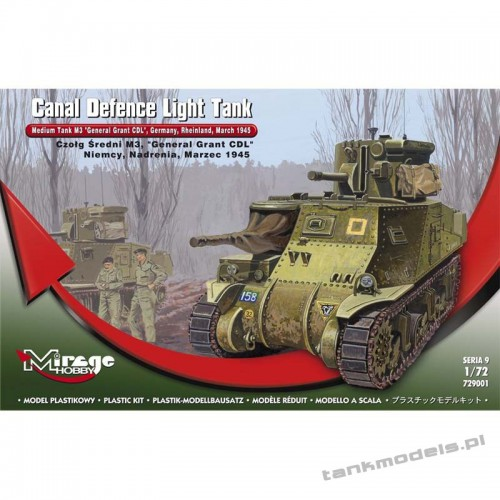 M3 CDL 'General Grant' - Mirage Hobby 729001
