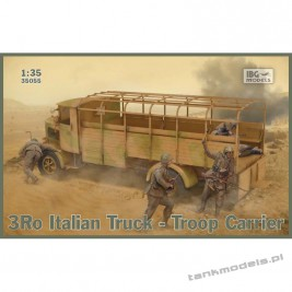 3Ro Italian Truck Troop Carrier - IBG 35055