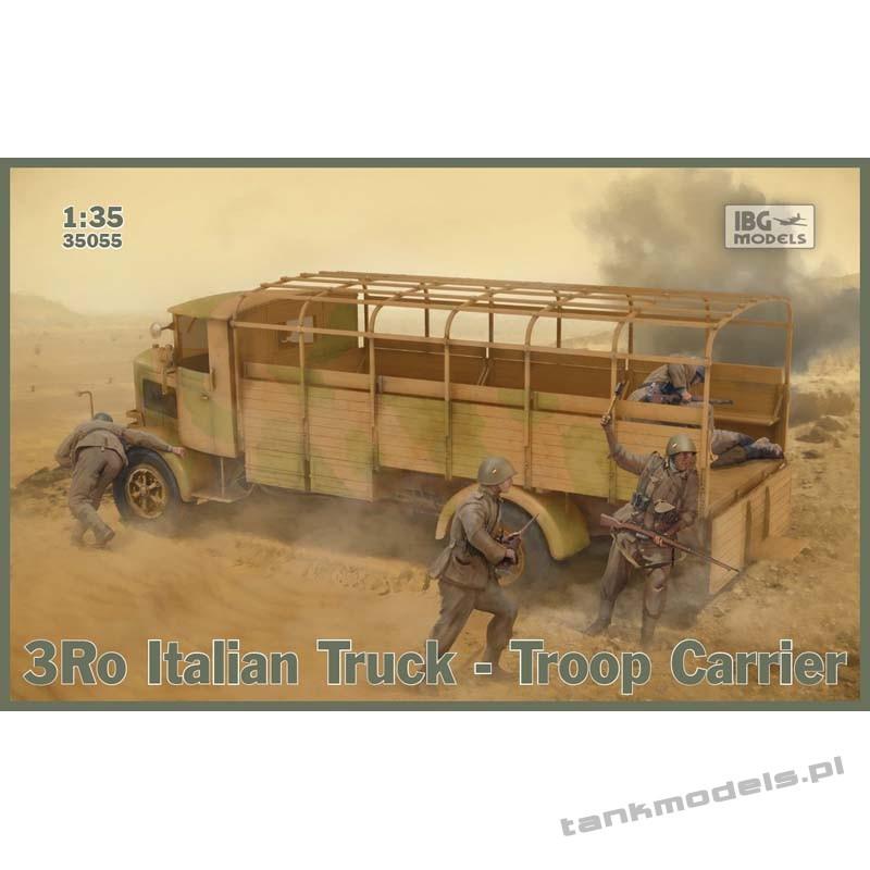 3Ro Italian Truck Troop Carrier - IBG 35055