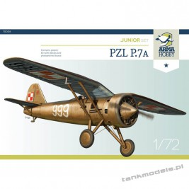 PZL P.7a (junior set) - Arma Hobby 70008
