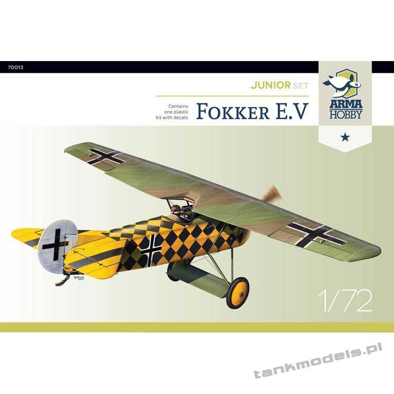 Fokker E.V (junior set) - Arma Hobby 70013