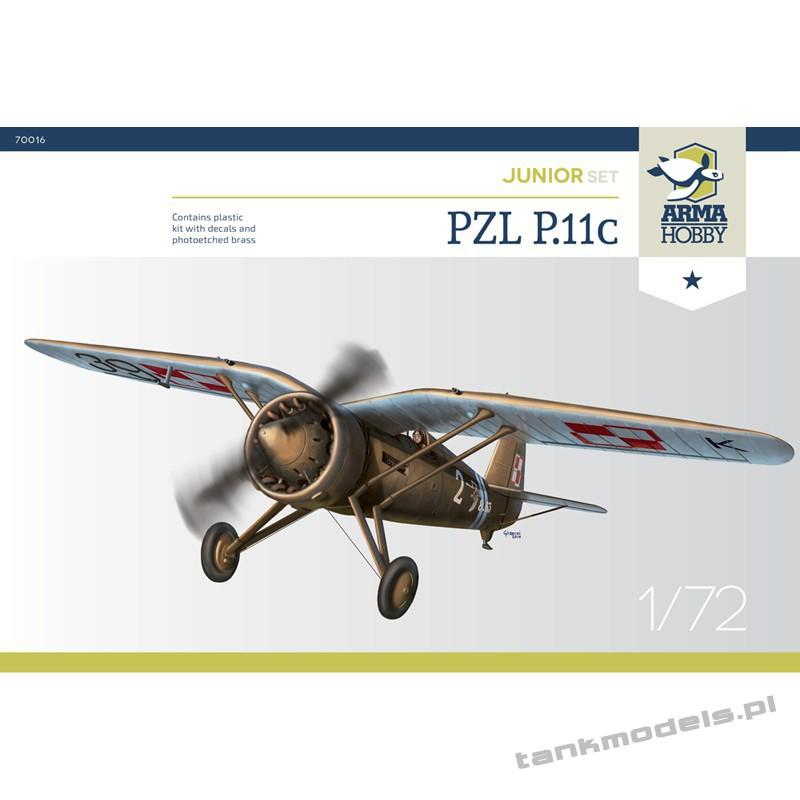 PZL P.11c (junior set) - Arma Hobby 70016