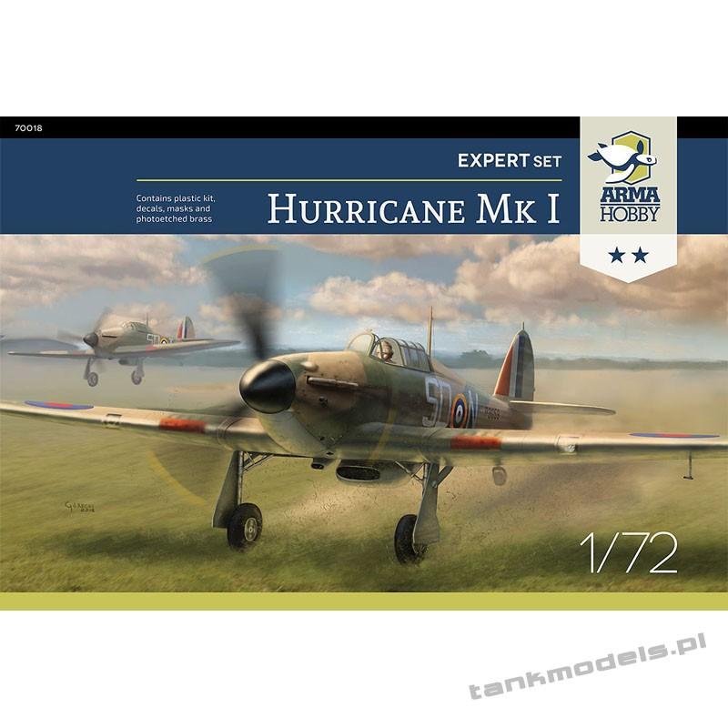 "Hurricane Mk I ""Battle of Britain"" (expert set) - Arma Hobby 70019"