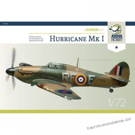 "Hurricane Mk I ""Battle of Britain"" (junior set) - Arma Hobby 70020"