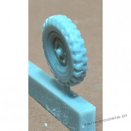 Wheels for Krupp Protze - terrain pattern (for FtF) - Modell Trans 72473