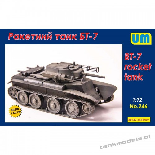 BT-7 rocket tank - Unimodels 246