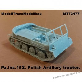 Pz.Inz. 152 Polish Artillery tractor - Modell Trans 72477