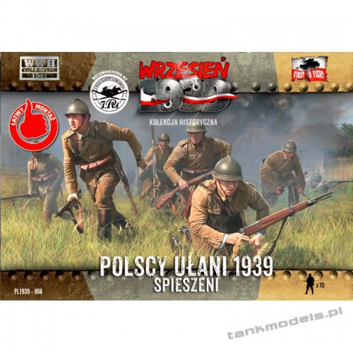 Polish Uhlans on foot 1939 - First To Fight PL1939-66