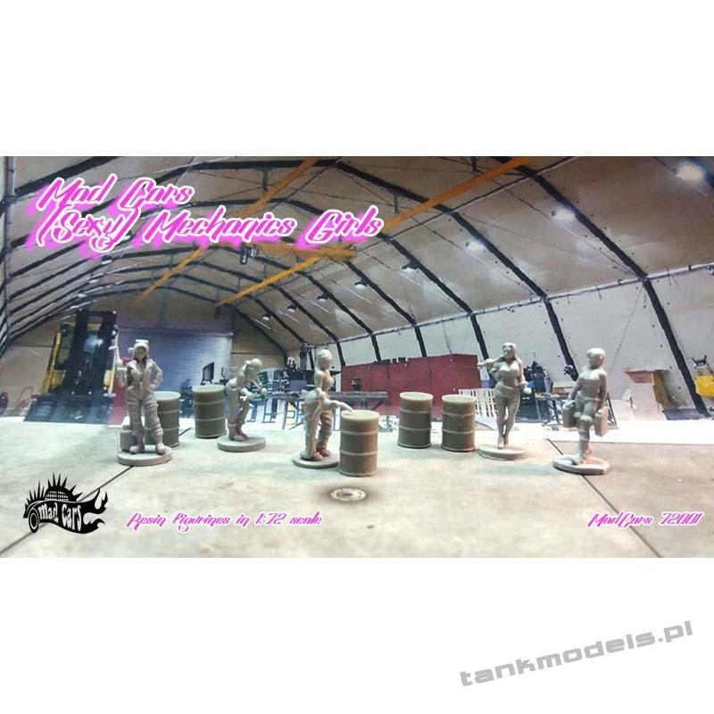 Sexy Mechanics Girls - Mad Cars 72001
