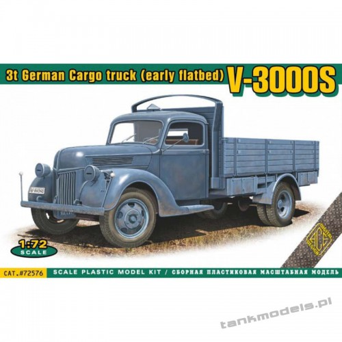 Ford V3000S 3t German Cargo truck (early/late) - ACE 72576