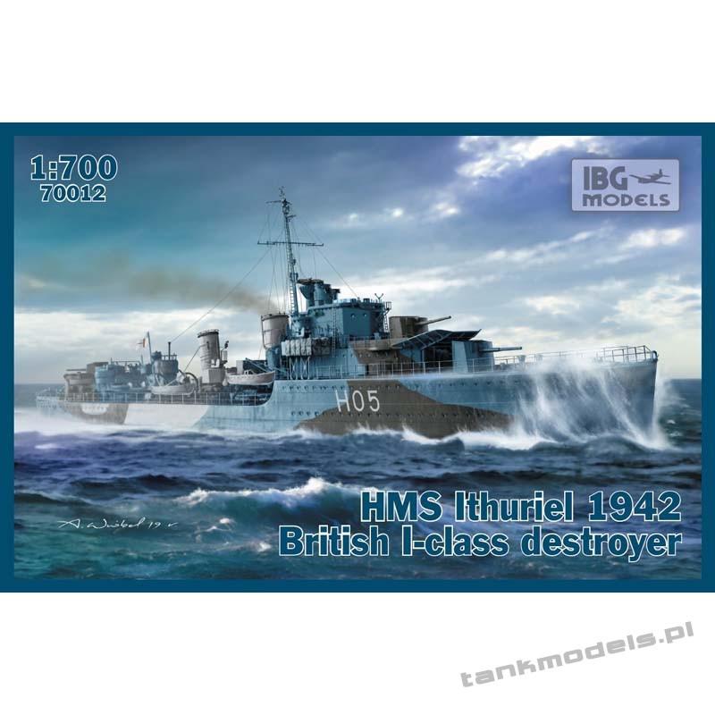 HMS Ithuriel 1942 I-class Destroyer - IBG 70012