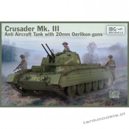 Crusader Anti Air Tank Mk. III with Oerlikon Guns - IBG 72070