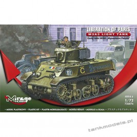 M3A3 Stuart 'Liberation of Paris' - Mirage Hobby 726076