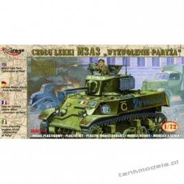 M3A3 Stuart 'Liberation of Paris' - Mirage Hobby 72676